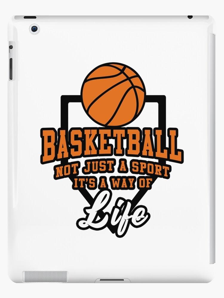 timeless design c4a45 3529b 'Basketball Ball Game Basket Dunking Throw Gift' iPad Case/Skin by Rikken89