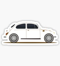 silhouette car Sticker