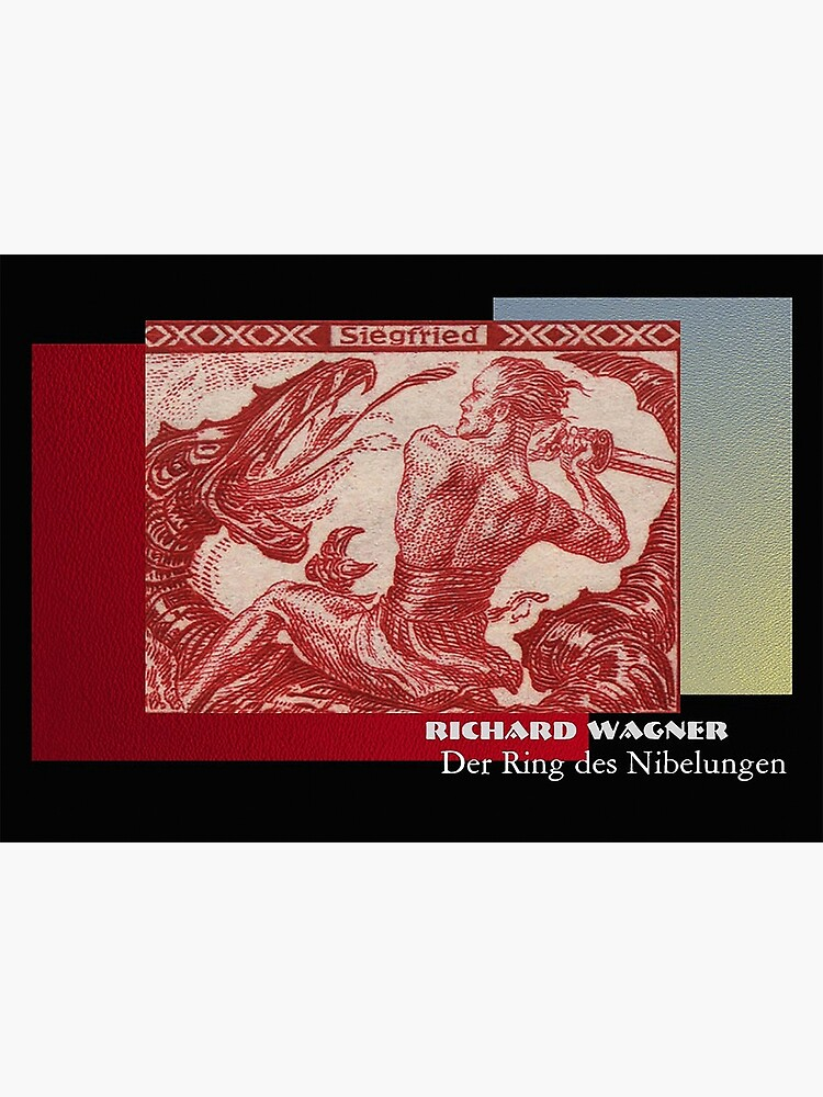 Siegfried, hero of the Der Ring des Nibelungen by edsimoneit