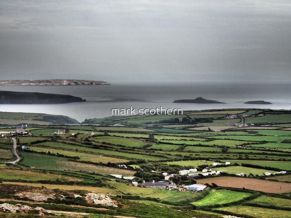 Coastal Fields of Green by mark scothern