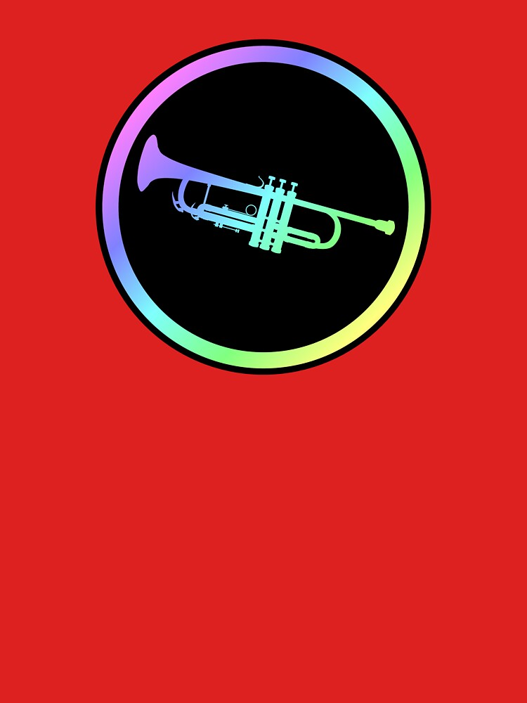 Colorful Trumpet Sign  by kennyn