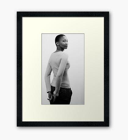 Neo Portrait 4 Framed Print