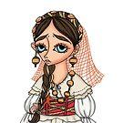 Abito tradizionale di Alghero - Traditional Sardinian dress by Lu1nil