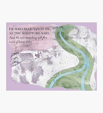 River of Life Photographic Print