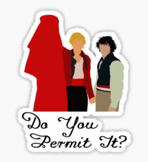 Do You Permit It? Sticker