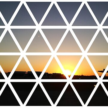 GEOMETRIC SUNSET by yaleesha