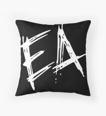 """Also"" Throw Pillow"