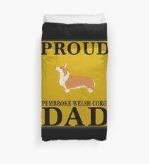Proud Pembroke Welsh Corgi Dad - Pembroke Welsh Corgi Bettbezug
