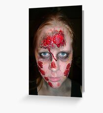 Zombies Don't Like Light! Greeting Card