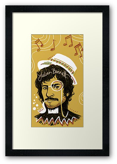 Julian Barratt: Gold Lion by Seahorse Carousel