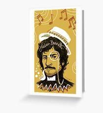 Julian Barratt: Gold Lion Greeting Card