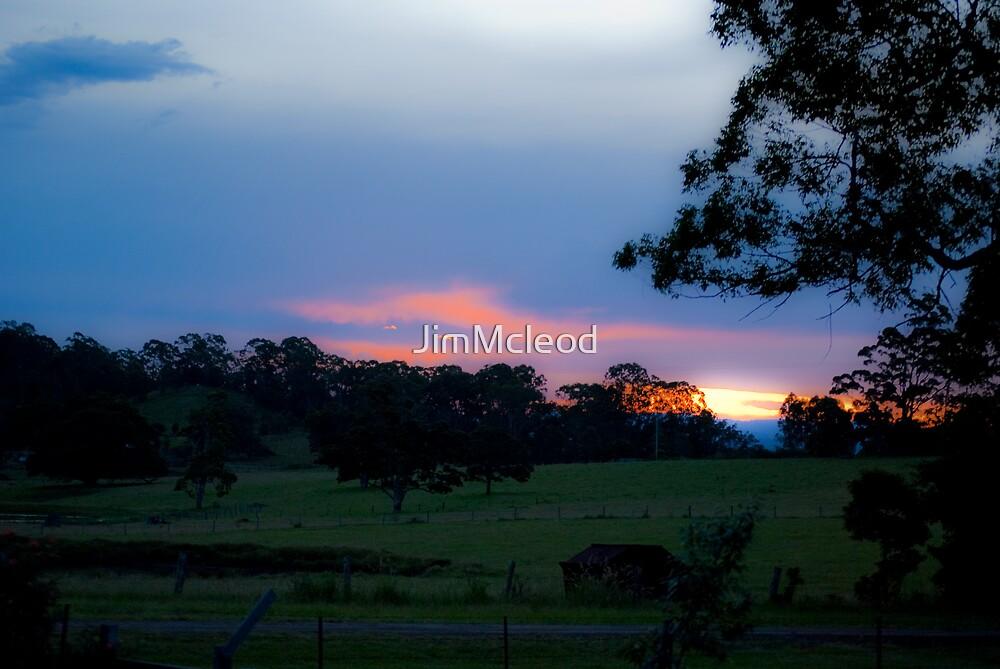 Kyogle Sunset by JimMcleod