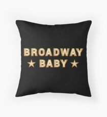 Broadway Baby Throw Pillow