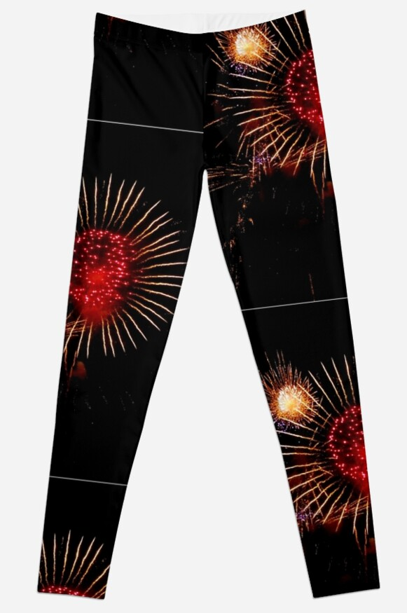 Burst of Fireworks - 1 by ginawaltersdorf