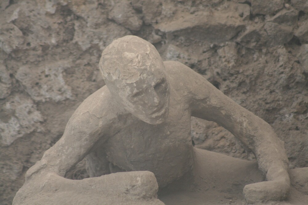 Last Breath - Pompeii, Italy by David McGilchrist