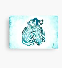 Zebra Leinwanddruck