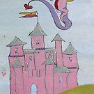 Pink Dragon by NomadicGoddess