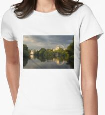 London - Illuminated and Reflected Womens Fitted T-Shirt