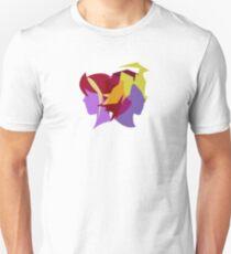 Arc V Ship Silhouette- Yuzu/Shingo T-Shirt