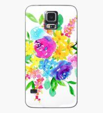 Helle Florals Hülle & Klebefolie für Samsung Galaxy
