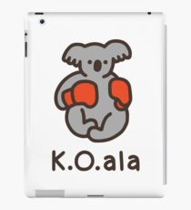 K.O.ala iPad Case/Skin