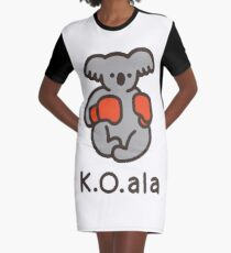 K.O.ala Graphic T-Shirt Dress