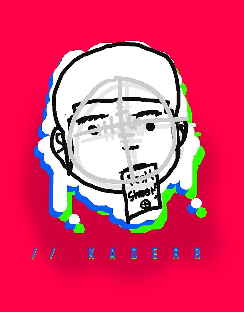 Premium Kaderr Head (Phones & Tablets) by kaderr-music