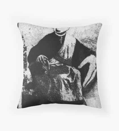 Suffer the Little Children to come Unto Me Throw Pillow