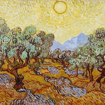 Olive Trees, Vincent Van Gogh by fourretout