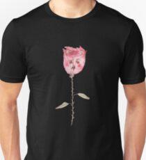Traurige Blume Unisex T-Shirt