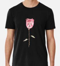 Traurige Blume Männer Premium T-Shirts