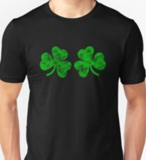 Shamrock Boobs Funny St Patrick s Day Unisex T-Shirt cc29a4555