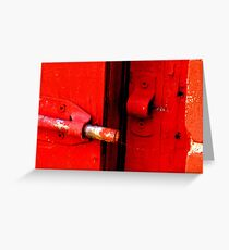 Unlatched! Greeting Card