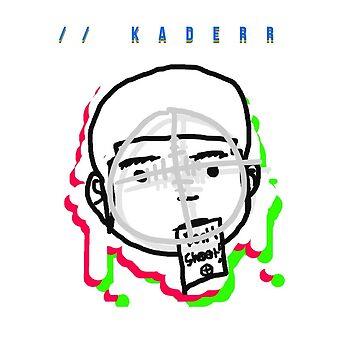 Kaderr Head Print (RED) (Phones & Tablets) by kaderr-music