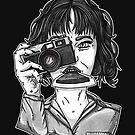 Polaroid Girl by DVerissimo