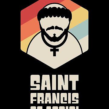 Catholic Saint Francis of Assisi / Catholic Saint by EMDdesign