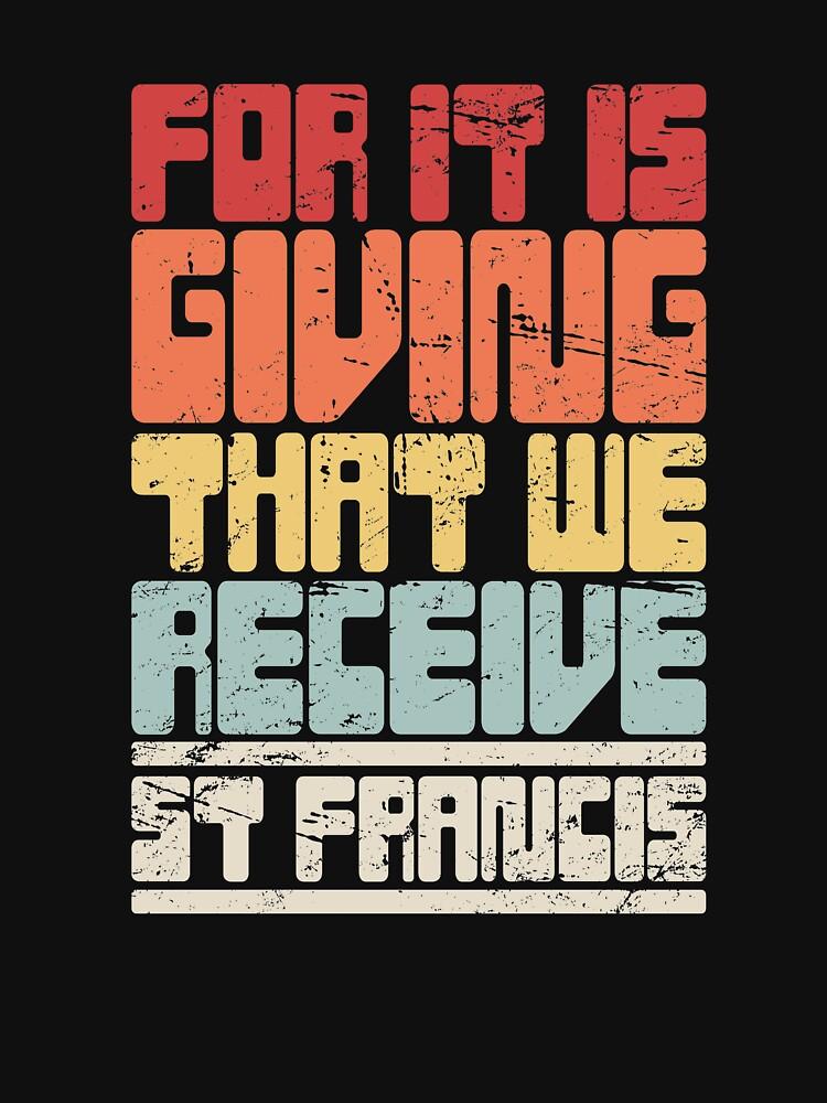 Patron Saint Francis of Assisi / Catholic St by EMDdesign