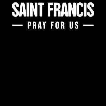 Catholic St Francis / Saint Francis Catholicism by EMDdesign