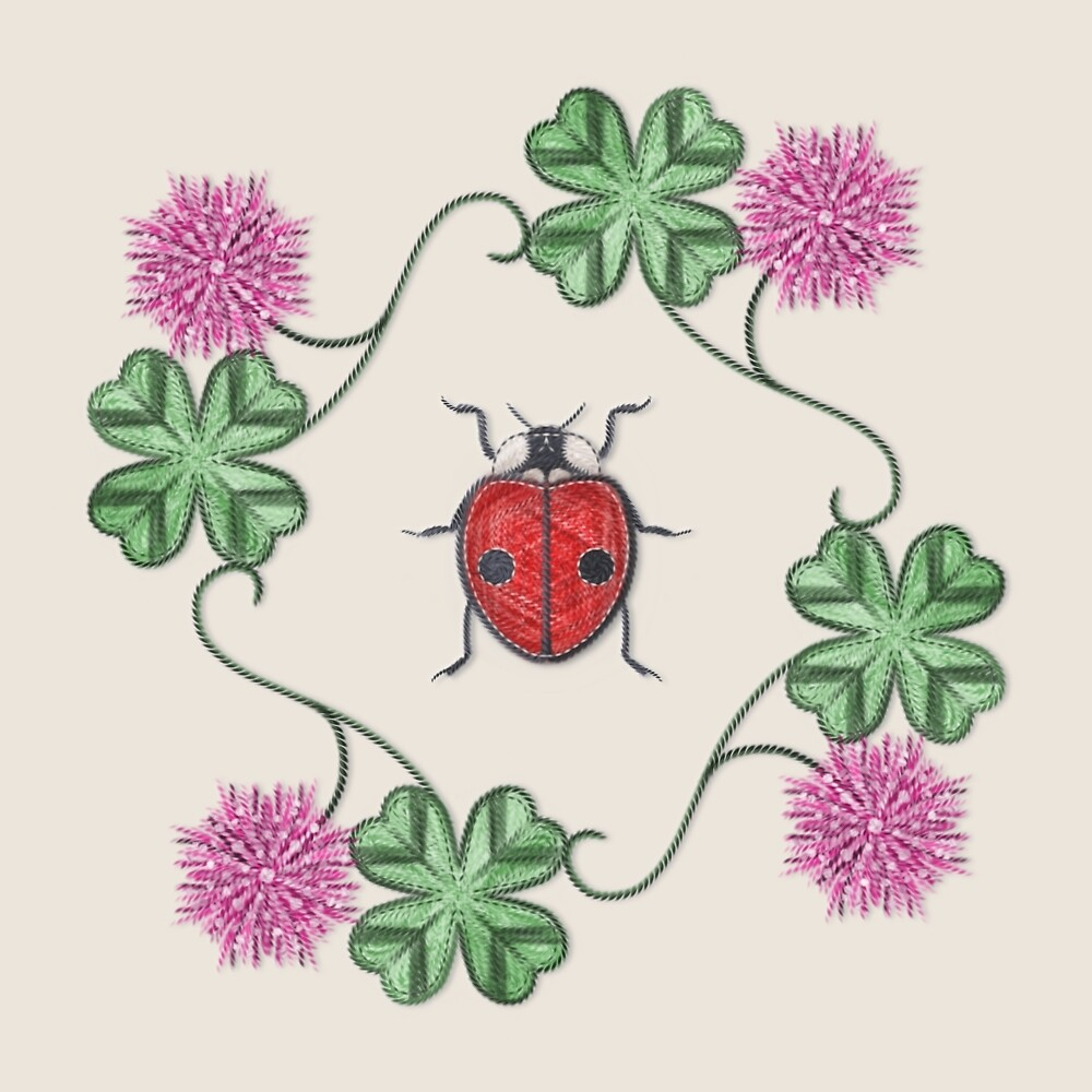 LadyBug Clovers - Classic by Sunflow