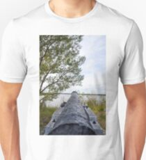 Canon from Fort Fredericia  Unisex T-Shirt