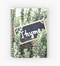 Thyme Spiral Notebook