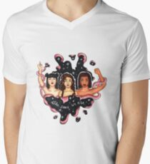 Like Stars We Rise T-Shirt mit V-Ausschnitt für Männer
