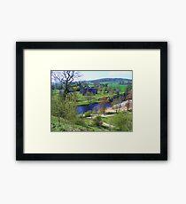 Bolton Abbey fron High Framed Print