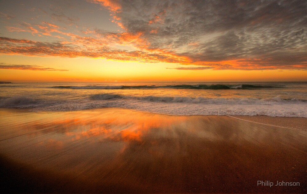 Quot Sunrise In Reflection Palm Beach Sydney The Hdr