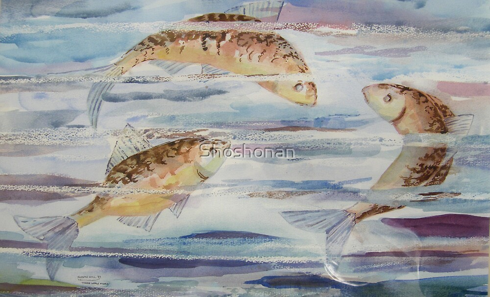 Three Little Fishes by Shoshonan
