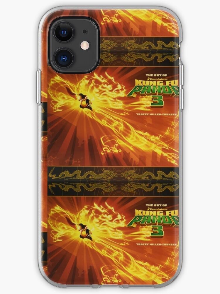 Poo Kung Fu Panda iphone case