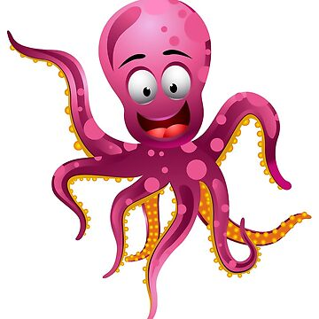 Cute octopus by criarte