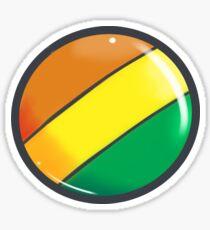 Rainbow Factory Button Sticker