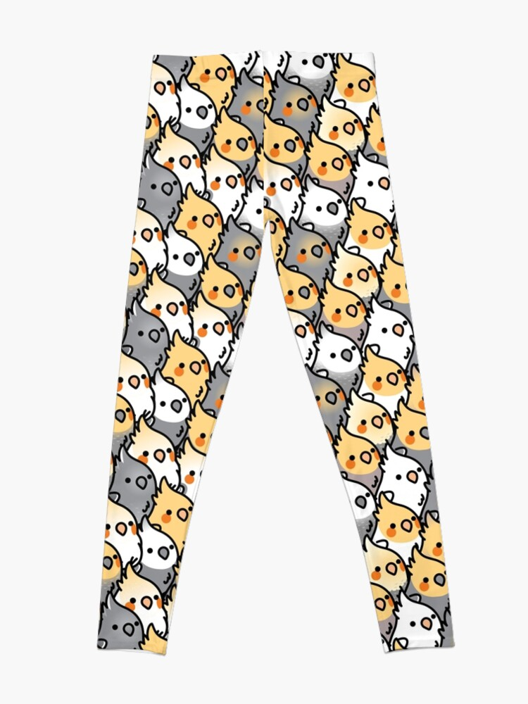 Alternate view of Chubby Cockatiel Party Leggings