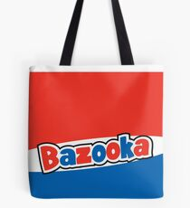 Bazooka bubble chewing gum Tote Bag